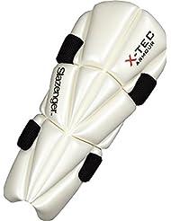 Slazenger X-Tec Cricket Deportes Protección ambidextro Fit Elbow Protector de brazo, multicolor
