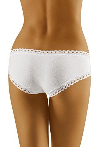 Wolbar Damen Slip 3514 Limited Edition Weiß