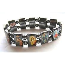 Religioso pulsera Hematites pulsera Ícono pulsera
