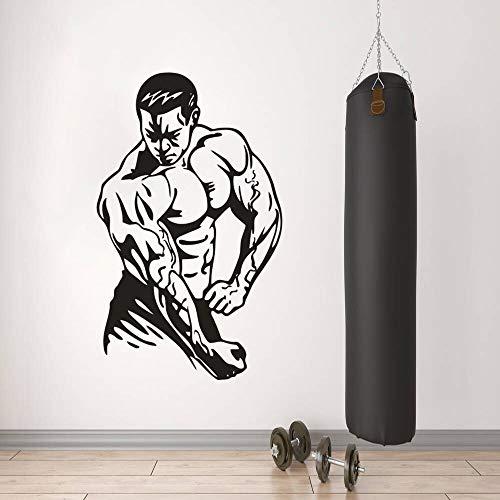 Voraus Vitamine (Dongwall Fitness Studio Wandaufkleber Gym Sport Energie Vitamin Wand Fitness Zeichen Vinyl Aufkleber Aktive Übung Dekoration 77 * 57 cm)