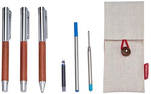 """Schreiben Kit""""Palisander Transotype (Füllfederhalter, Tintenroller un"""