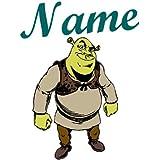 Image de repassage Shrek avec nom personnalisé Plus 1petit image d'exercices gratuit–pour textiles clairs