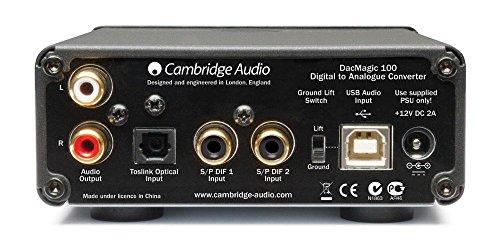 Cambridge Audio DacMagic 100 Digital-Analog-Wandler schwarz