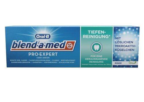 Oral-B blend-a-med Pro-Expert Fluorid-Zahnpasta Tiefenreinigung*, 75 ml