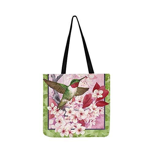 (Handtasche/Umhängetasche, Motiv: Flaggen und Hof, für Damen und Herren, aus Segeltuch)