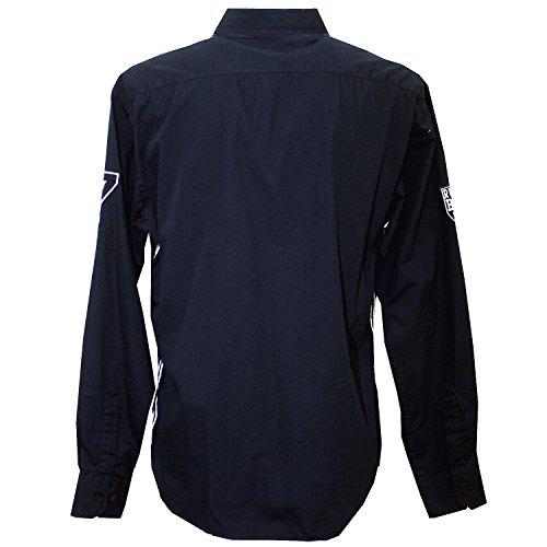 Kitaro, langarm Hemd, 101557, navy [8327] Navy