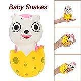 TianranRT Squeeze Stress Reliever Niedlich Baby Schlangen Verlangsamen Steigen Spielzeug Kinder Geschenke