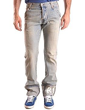 Richmond Hombre MCBI256113O Azul Claro Algodon Jeans