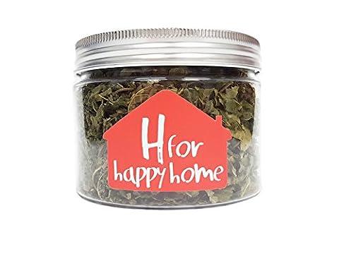 H für Happy Home–300ml Japanische Matatabi polygama natürlichen Katzenminze Blättern Refill für (Petsafe Refill)