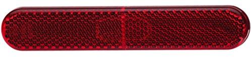 HELLA 8RA 009 226-131 Rückstrahler, KFZ Rückstrahllicht, Lichtscheiben und Gehäuse rot