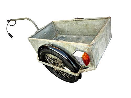 Set Kotflügel Schutzblech für DDR Fahrrad Simson Schwalbe Moped Anhänger Handwagen MKH Heldrungen
