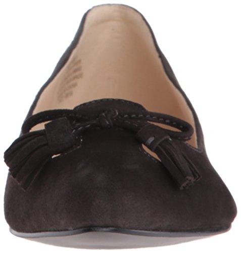Nine West Simily Daim Chaussure Plate Dark Grey