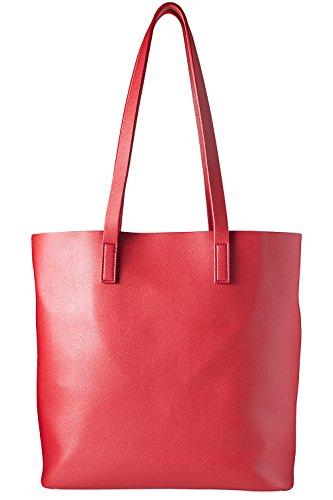 cecilia&bens Shopper   Damen Handtasche   Schultertasche, Red, standard