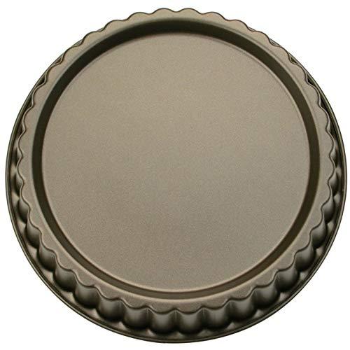 Städter 587205Moule à Tarte Rond, revêtement anti-adhésif, gris, 22x 22x 5cm