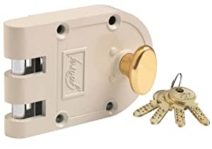 Godrej Locks Ultra Vertibolt 1CK (Beige and Brass)