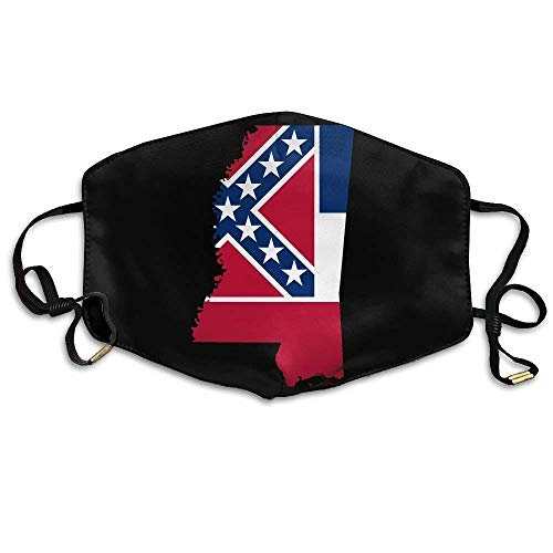 Mississippi State-tree (Unisex Mississippi State Flag Map Comfortable Anti-Pollution Breathable Health Masks Mouth Face Masks)