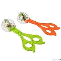 WUSYO Plastic Bug Insect Catcher Scissors Tongs Tweezers For Kids Toy,random
