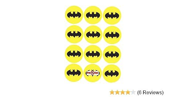 40 X Pre Cut Batman Logo Cake Cupcake Toppersdecorations Edible