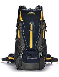 GBT Alpinismo Al Aire Libre Profesional Bolsa De Viaje Resistente Al Agua De Gran Capacidad , Deep Blue,deep blue