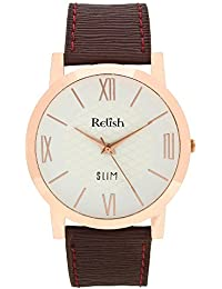 RELISH RE-S8071CB Copper Slim Analog Watches For Men's And Boy's