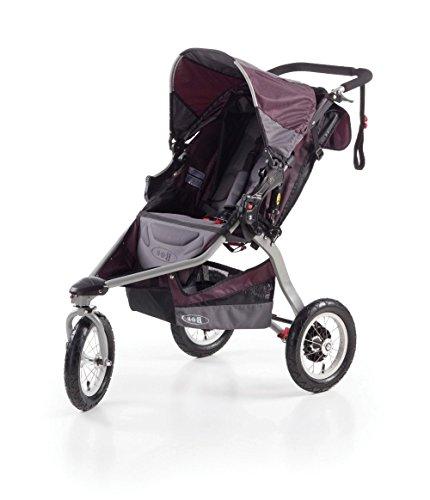 BOB Revolution CE - Cochecito todoterreno de 3 ruedas, color gris y morado
