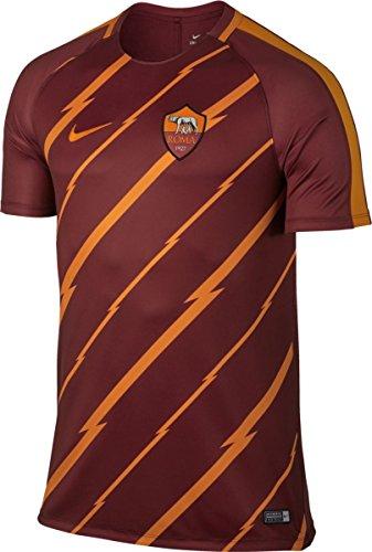 Nike M nK Dry sQD Top SS GX T-shirt à manches courtes, Homme rojo (team red / kumquat / kumquat)