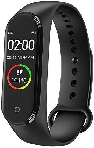 Airking Xiaomi Smart Fit Band M3 Activity Tracker Bluetooth 4.2 for All Android and iOS Smartphones (Black)