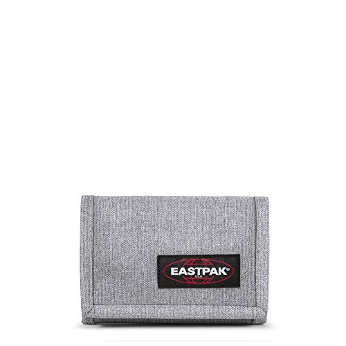 Eastpak Crew Single Porte-Monnaie, 13 cm, Gris