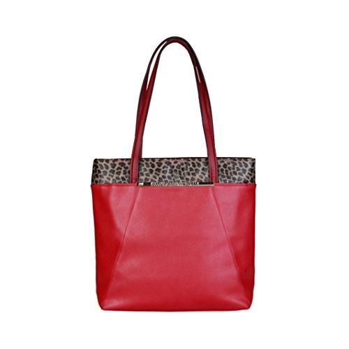 Cavalli Class - Sac porté épaule pour femme (C51PWCEM0082_060-RED) - Rouge