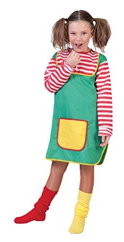 (Karneval-Klamotten Freches Mädchen Kostüm Freche Göre Kinder-Kostüm Größe 116)