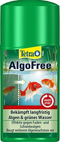 Tetra Pond AlgoFree (beseitigt effektiv grünes Wasser im Gartenteich, z.B. aufgrund Schwebealgen), 250 ml Flasche