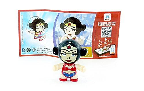 Preisvergleich Produktbild Kinder Überraschung, Wonder Woman als Twistheads Figur 2017 (Justice League SD317)