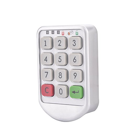 Codeschlösser, ECTECH Modellnummer Tastatur Passwort elektronische digitale Schlösser Schrank Code Schublade