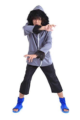 Kostüm Cosplay Kiba (ACGCos Naruto Shippuden Hidden Leaf Team 8 Inuzuka Kiba Outfit 1st Ver)