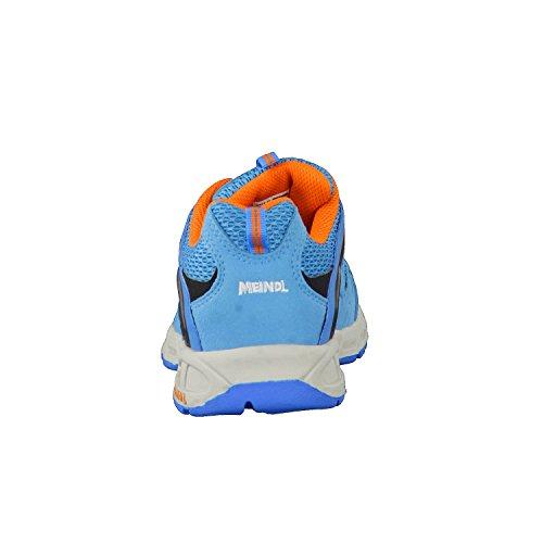 Meindl Respond Junior 680130, Unisex - Kinder Trekking- und Wanderschuhe Orange/Hellblau