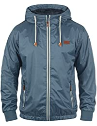 BLEND Mats Men's Windbreaker Jacket Outdoor Jacket Raincoat With Hood