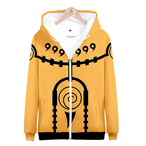 LZHWY 3D Sweatshirt Hoodie Anime Kapuzenpullover 3D Druck Muster Pullover Cosplay Unisex Jacke Jugendkleidung Naruto 4XL -