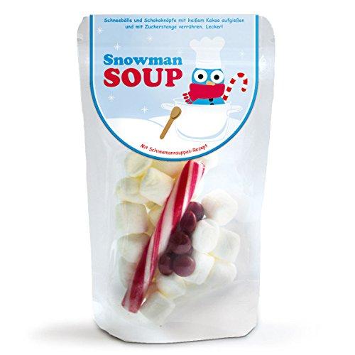 Zuppa di Pupazzo di neve - Mini marshmallow natalizi