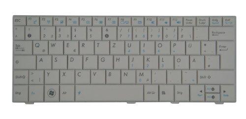 Original Tastatur ASUS Eee PC 1001P Series Weiß NEU (Asus Pc Eee 1001p)