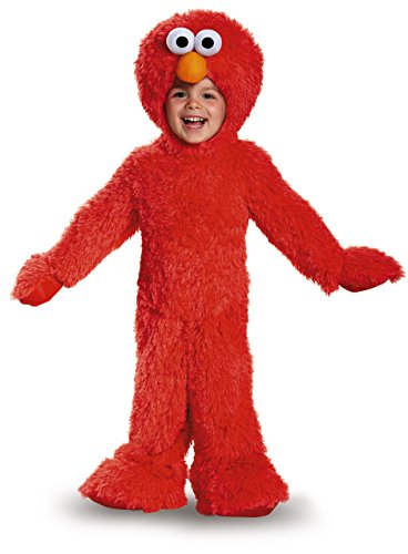 Disguise 76876S Elmo Extra Deluxe Plush Costume, Small (2T) by - Elmo Kostüm Kinder