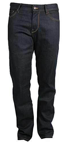 Preisvergleich Produktbild BOSS ORANGE BO24 Jeans ( Regular Fit ) deep dark blue rinsed STRETCH (W35/L32)