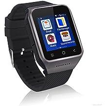 ZGPAX S8 Smartphone Bluetooth Reloj Inteligente Android 4.4 MTK6572 Dual Core GPS 2.0MP Cámara WCDMA WiFi MP3 MP4 Smartwatch U8 PK Q18