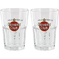 HAVANA CLUB GLAS 2 Stück 2+4CL /-/NEU