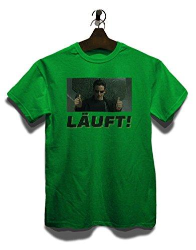 Laeuft 49 T-Shirt Grün