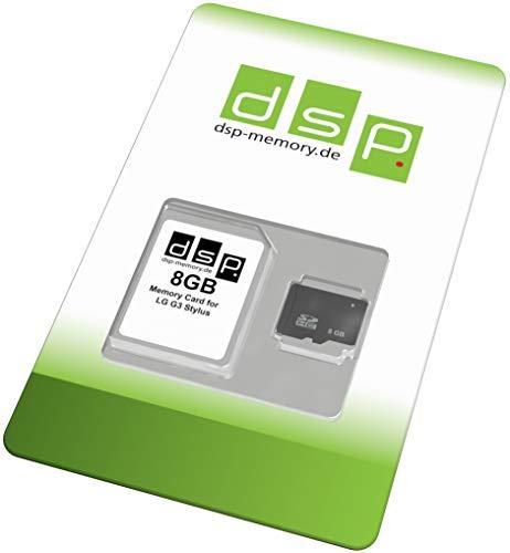 Carte Mémoire 8Go Classe 10 pour LG G3 Stylet