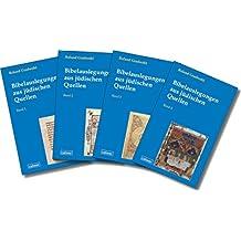 Bibelauslegungen aus jüdischen Quellen: Unveränderter Nachdruck. 4 Bände im Paket