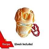 Emporte-pièce en forme de super-héros Iron Man Plastique Moule pour la cuisson à...
