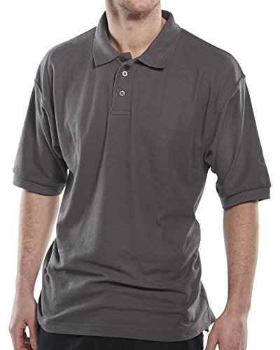 Clickworkwear Short Sleeve Pilot Shirt grau
