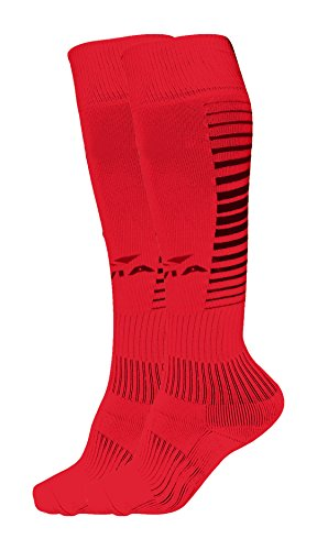 Nivia 725RB Encounter Blend Stockings, Small (Red)