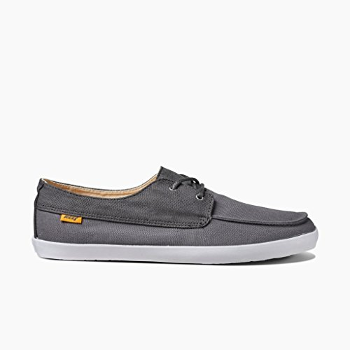 Reef Deckhand Low, Chaussures Homme gris - Gris (Charcoal / Grey)